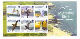 ALDERNEY, BAILIWICK OF GUERNSEY  /  MIGRATING  BIRDS , PART 2 - SEABIRDS  /  Faciale : 2 £ 35 - Alderney
