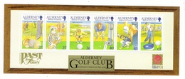 ALDERNEY, BAILIWICK OF GUERNSEY  /  GOLF  CLUB , EQUIPMENT  THROUGH  THE  AGES  /  Faciale : 2 £ 35 - Alderney