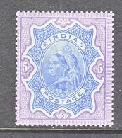 BRITISH  INDIA  52   *    Wmk..  STAR  1895  Issue - India (...-1947)