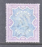 BRITISH  INDIA  52   Fault *    Wmk..  STAR  1895  Issue - India (...-1947)