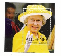 ALDERNEY, BAILIWICK OF GUERNSEY / BEAU LOT DE 11 BLOC-FEUILLETS, NEUFS ( état Luxe ) / Faciale : 23 £ 86 - Alderney