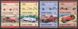 Tuvalu/ Funafuti 1984 Mi# 13-20** AUTOMOBILES - Tuvalu