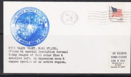 SPACE  - USA-  1979 - BLACK BRANT  COVER   WITH  WHITE SANDS  NOV 7 1979 POSTMARK - United States