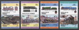 Tuvalu/ Nukulaelae 1984 Mi# 1-8** LOCOMOTIVES - Tuvalu