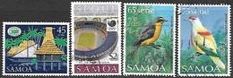 Samoa  1988   4 Better Used Including $2 Olympics   2016 Scott Value $4.50 - Samoa