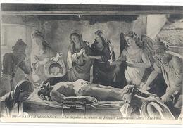 """299. SAINT-THEGONNEC . """" LE SEPULCRE """" Oeuvre De JACQUES LESPAIGNOL 1702   . CARTE NON ECRITE - Saint-Thégonnec"""