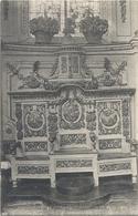 1199. SAINT-THEGONNEC .   L'INTERIEUR DE L'EGLISE - LES STALLES   . CARTE NON ECRITE - Saint-Thégonnec