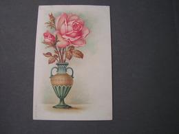 Rosen In Antike Vase ..Feldpost Ingolstadt Nach Aschaffenburg 1917 - Paintings