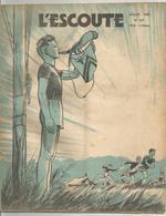 L ESCOUTE , ASSOCIATION DES SCOUTS DE FRANCE , N0  187 JUILLET 1943 - Scoutisme