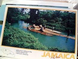 JAMAICA GIAMAICA BAMBOO  RAFFTING MARTHA RIVER  STAMP TIMBRE SELO 45 CCOLOMBO  COLUMBUS 2° VOYAGE  GX5765 - Giamaica