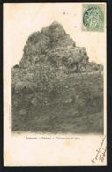ISLANDE -HEKLA - Formation De Lave   -CPA Voyagée  1906  -recto Verso - Paypal Sans Frais - Islande
