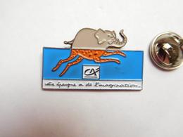 Beau Pin's , Banque Crédit Agricole , éléphant - Banche