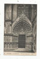 Cp, 86 , POITIERS , La Cathédrale ,portique Latéral Droit ,  Vierge - Poitiers
