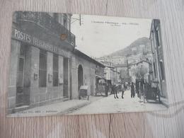CPA 07 Ardèche Privas La Poste Tache Sinon Bon état - Privas
