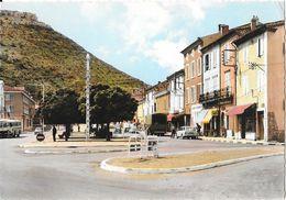 Le Pouzin (Ardèche) - Avenue Marcel Nicolas, Autocar Chausson - Edition Combier - Carte Colorisée N° 65 - Le Pouzin