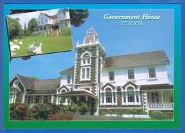 St Lucia; Santa Lucia; Gouvernment House - St. Lucia