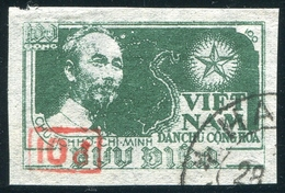 NORD VIETNAM 1956  YT N° 96A (o) ; Mi# 40 Bl  Used - Vietnam