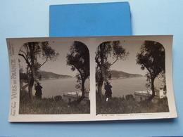 MONACO : Vue Vers Le CAP FERRAT : S. 95 - 3950 ( Maison De La Bonne Presse VUES De FRANCE ) Stereo Photo ! - Photos Stéréoscopiques