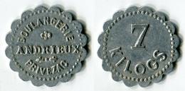 N93-0558 - Monnaie De Nécessité - Privezac - Boulangerie Andrieux - 7 Kg - Noodgeld