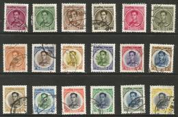 Thailand - 1963-5 King Bhumibol Used    Sc 397-411A - Thailand