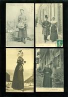 Beau Lot De 60 Cartes Postales De France  Folklore     Mooi Lot Van 60 Postkaarten Van Frankrijk Folklore - 60 Scans - Cartes Postales