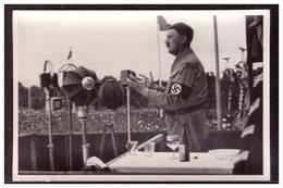 """DT- Reich (006254) Propaganda Sammelbild Adolf Hitler"""" Bild 38, Der Führer Spricht Zum Deutschen Volk - Deutschland"""