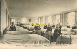 27 Thibouville, Maison St Vincent, Un Dortoir, Fillettes Près De Leurs Lits - Other Municipalities