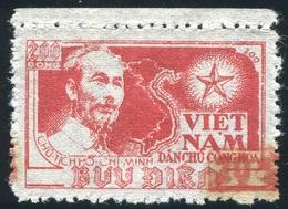 NORD VIETNAM 1956  YT N° 96M (*) ; Mi# 41 AII  MNG - Vietnam