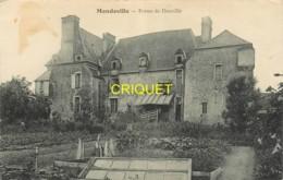 27 Mandeville, Ferme De Douville, Voir Potager Et Chassis Au 1er Plan, Belle Carte Pas Courante - France