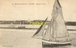 56 Billiers, Bateaux De Pêche, Affranchie Exposition 1931, Beau Plan Pas Très Courant - France