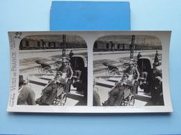 LOURDES : Arrivée Du Train Blanc : S. 77 - 3803 ( Maison De La Bonne Presse VUES De FRANCE ) Stereo Photo - Photos Stéréoscopiques