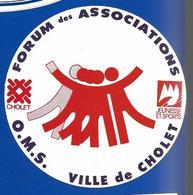 A.C CHOLET Forum Des Associations - Stickers