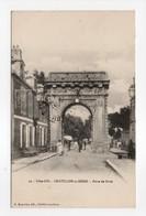 - CPA CHATILLON-SUR-SEINE (21) - Porte De Paris 1910 - Edition H. Bogureau N° 23 - - Chatillon Sur Seine