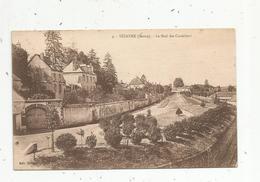 Cp,  51 , SEZANNE , Le Mail Des CORDELIERS , Voyagée - Sezanne