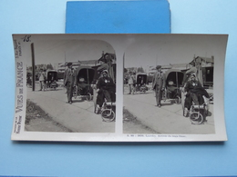 LOURDES : Arrivée Du Train Blanc : S. 80 - 3839 ( Maison De La Bonne Presse VUES De FRANCE ) Stereo Photo - Photos Stéréoscopiques