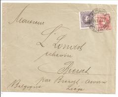 Alfonso XIII Cadete. 10c + 15c >Belgique - 1889-1931 Reino: Alfonso XIII