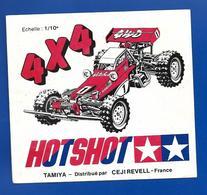 A.C SEJI REVELL Hotshot  4 X 4 - Stickers
