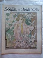 LE SOLEIL DU DIMANCHE  N° 17 Du 27/4/1902 LES COSTUMES DE HIGH LIFE TAILOR - LE PRINTEMPS AQUARELLE DE HENRIDA - Newspapers