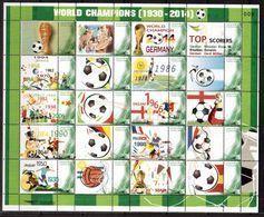 Thailand-2014,(Mi.), Football, Soccer, Fussball,calcio,MNH - Soccer