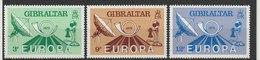 MiNr. 392 - 394  Gibraltar / 1979, 16. Mai. Europa: Geschichte Des Post- Und Fernmeldewesens. Odr. (25); Wz. 5; Gez. K 1 - Gibraltar