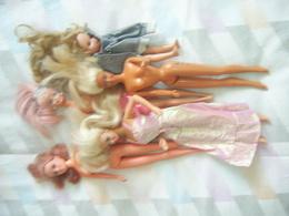 LOT DE POUPEES BARBIE DIVERSES - Barbie
