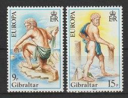 MiNr. 416 - 417  Gibraltar / 1981, 24. Febr. Europa: Folklore. - Gibraltar