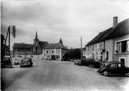 Alligny  En  Morvan -   L' église - Le  Bourg. - Autres Communes
