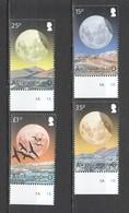S914 ASCENSION ISLAND FAUNA BIRDS SPACE LUNAR ECLIPSE NIGHT SKY #1170-73 1SET MNH - Space