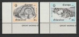 MiNr. 463 - 464 Gibraltar / 1983, 21. Mai. Europa: Große Werke Des Menschlichen Geistes. - Gibraltar