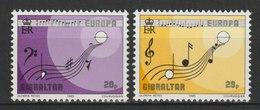 MiNr. 487 - 488 Gibraltar / 1985, 26. Febr. Europa: Europäisches Jahr Der Musik. - Gibraltar