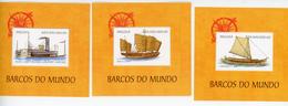 Angola 1999-Bateaux Anciens-YT B62+64+66***MNH - Angola