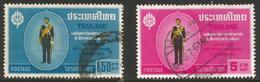Thailand - 1963 King Bhumibol Birthday Used    Sc 419-20 - Thailand