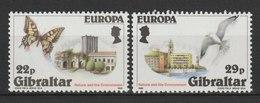 MiNr. 503 - 504 Gibraltar / 1986, 10. Febr. Europa: Natur- Und Umweltschutz. - Gibraltar