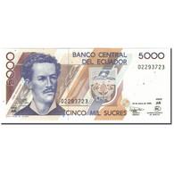 Billet, Équateur, 5000 Sucres, 1999-03-26, KM:128c, NEUF - Equateur